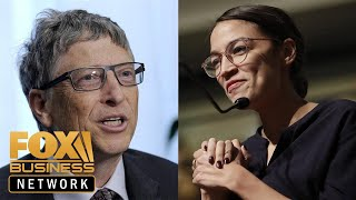 Bill Gates says Ocasio-Cortez tax policy misses the mark
