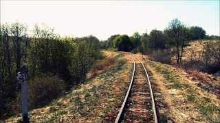 61, 60 km.  2013 m. Lithuanian narrow gauge railway. УЖД в Литве