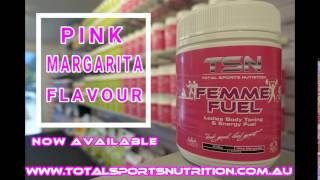 Femme Fuel NEW Pink Margarita | Ladies Body Toning & Energy Fuel