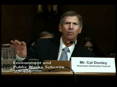 Cal Dooley beofre the Environment and Public Works Subcommittee