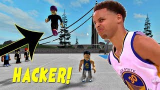 Steph Curry vs Hacker dans RB World 2 ( Roblox - France iBeMaine (en)