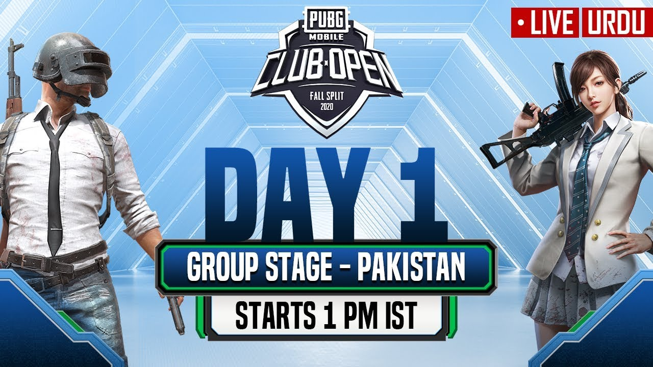 [Urdu] PMCO Pakistan Group Stage Day 1 | Fall Split | PUBG MOBILE CLUB OPEN 2020