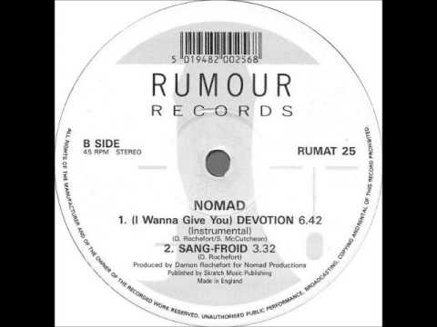 "Nomad - ""(I Wanna Give You) Devotion (Instrumental)"""