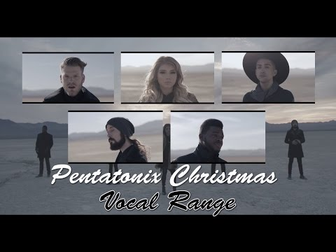 Pentatonix Christmas Vocal Range | A1 - G♯5 | HD