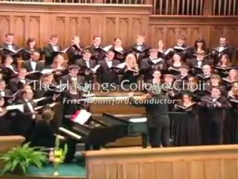 Fairest Lord Jesus (The Hastings College Choir)