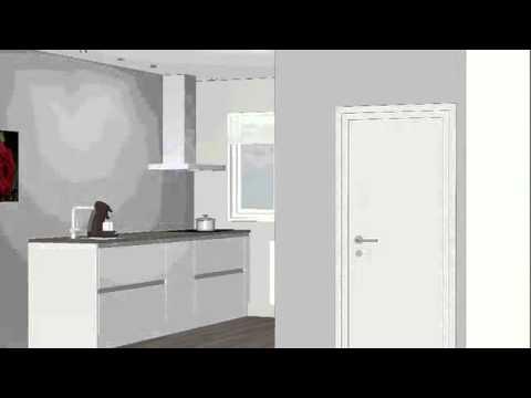 Greeploze Design Keukens : Oude booyink keukens moderne greeploze opstelling met ingebouwde