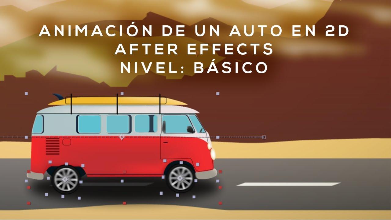 Tutorial: Animar un auto en After Effects