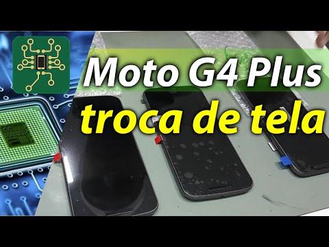 Motorola moto G4 Plus - como fazer a troca de tela do moto g4 plus