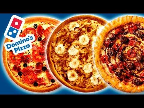 Como Hacer PIZZAS En Casa Estilo DOMINO´S PIZZA 🍕