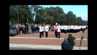 Trooping the Colour and Freedom of Entry to the City of Canberra June 2011