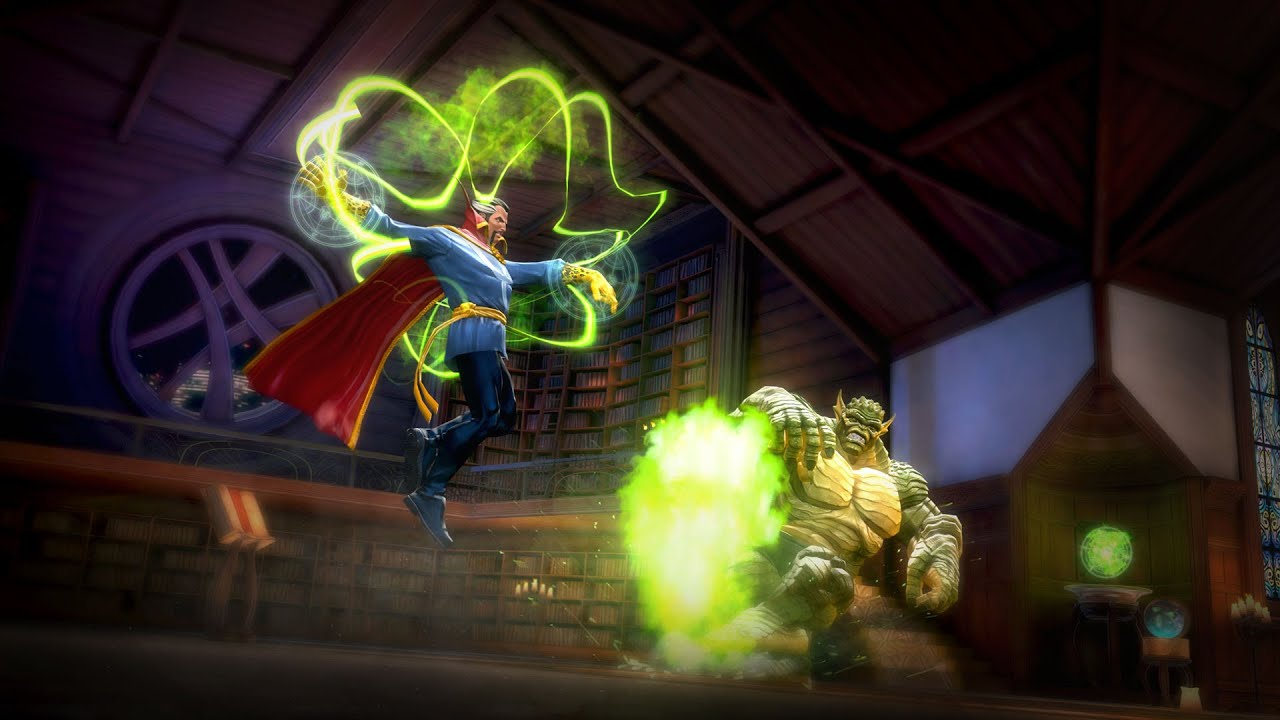 Animated Heart Wallpaper Contest Of Champions Dr Strange Spotlight Youtube