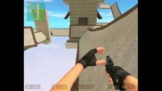 Обучение как кататься на Surf картах в Counter Strike.
