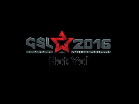 Garena Star League 2016 Roadshow HAT YAI day 1