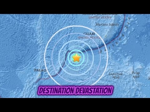 3 powerful earthquakes strike Micronesia. M6.5, M6.4 and New Zealand M6.2 within 10 hours