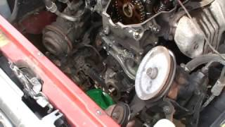 REPLACE TIMING CHAIN 1993 TOYOTA 4RUNNER 22RE ENGINE I4 Part 3