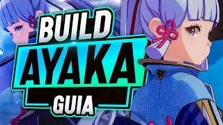 La GUIA DEFINITIVA de AYAKA - Build Ayaka DPS CARRY   Sub DPS - Genshin Impact