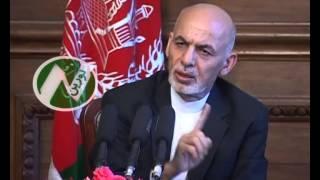 نگرانی رییس جمهور غنی از فرستادن پیام جنگ پاکستان به افغانستان.noorintv