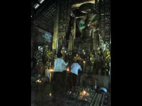 Angkorajaborey Pagoda and Ao Ba Om, Tra Vinh, Vietnam