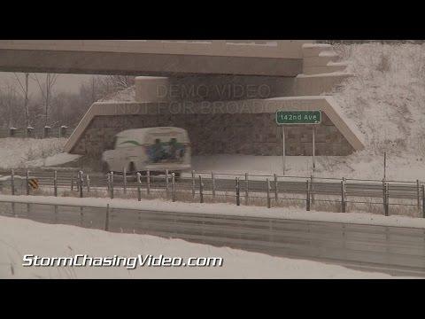 11/13/2014 Grand Rapids, MI Lake Effect Snow