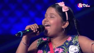 Riya Biswas - Blind Audition - Episode 1 - July 23, 2016 - The Voice India Kids