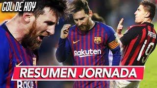 MESSl le da el triunfo al Barcelona I RESUMEN JORNADA GOL DE HOY