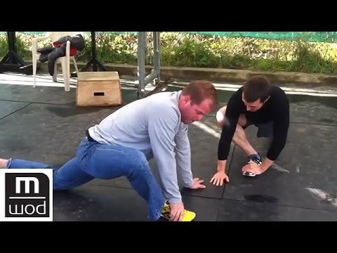 Pre workout hip sequence for a squat workout