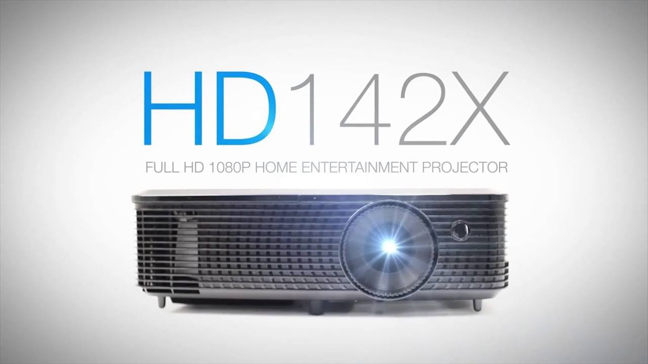 Optoma HD142X Full HD DLP Home Theater Projector Introduction | Full ...