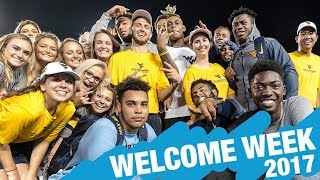 WVU WELCOME WEEK 2017 (YOU WON'T WANT TO MISS THIS)
