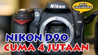 NIKON D90 - KAMERA KUALITAS DEWA HARGA MURAH!!!