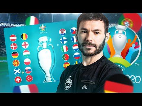 🏆 EURO 2020 - MES PRONOS DE LA TEHON !