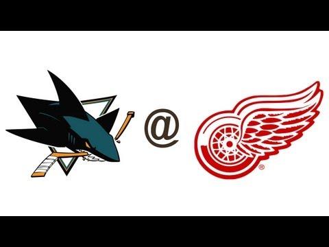 Pavel Datsyuk Against San Jose Sharks 11/4/2013 Highlights