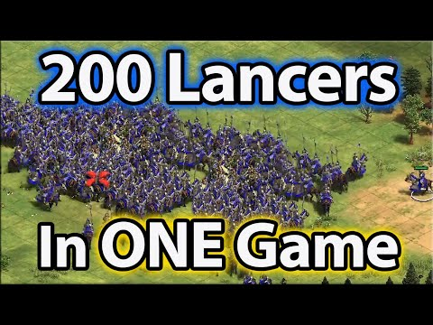 200 Steppe Lancers In One Game!