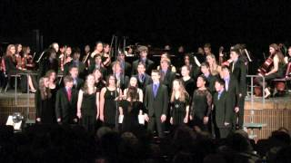 "Amherst Regional High School Chorale - ""As Vesta Was from Latmos Hill Descending"""