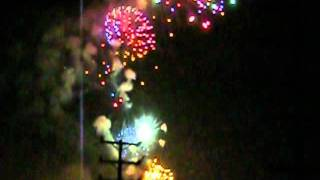 July 4th 2011 Fireworks at Redondo Beach