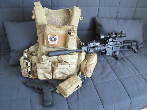 Présentation du Plate Carrier Advanced M4/AK Series d'Oslotex Tactical.