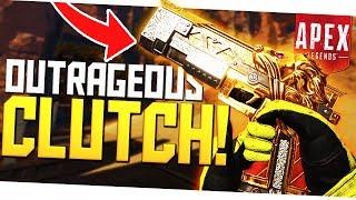 Don't Underestimate This Gun! - OUTRAGEOUS RE-45 Pistol Clutch! - PS4 Apex Legends