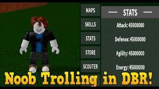 Trolling as a NOOB in Dragon Ball Rage (DBR) (DESC)