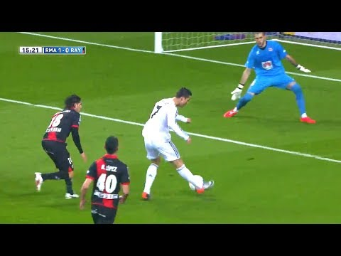 10 Times Cristiano Ronaldo Passed the Ball into the Net ! | HD