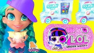 КУКЛА ЛОЛ и ее СТАРШАЯ СЕСТРА! #LOL Surprise Baby Doll GOING on VACATION! SQUISHY SWEETS Распаковка