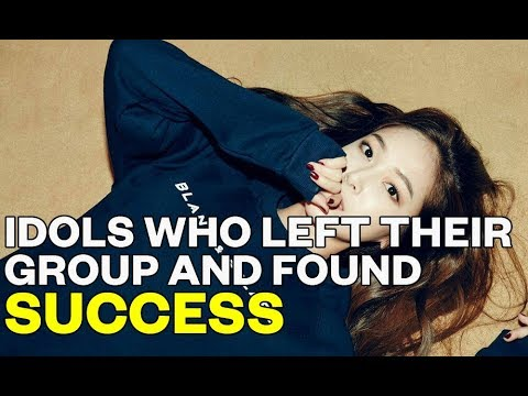 Idols who left their group and found success