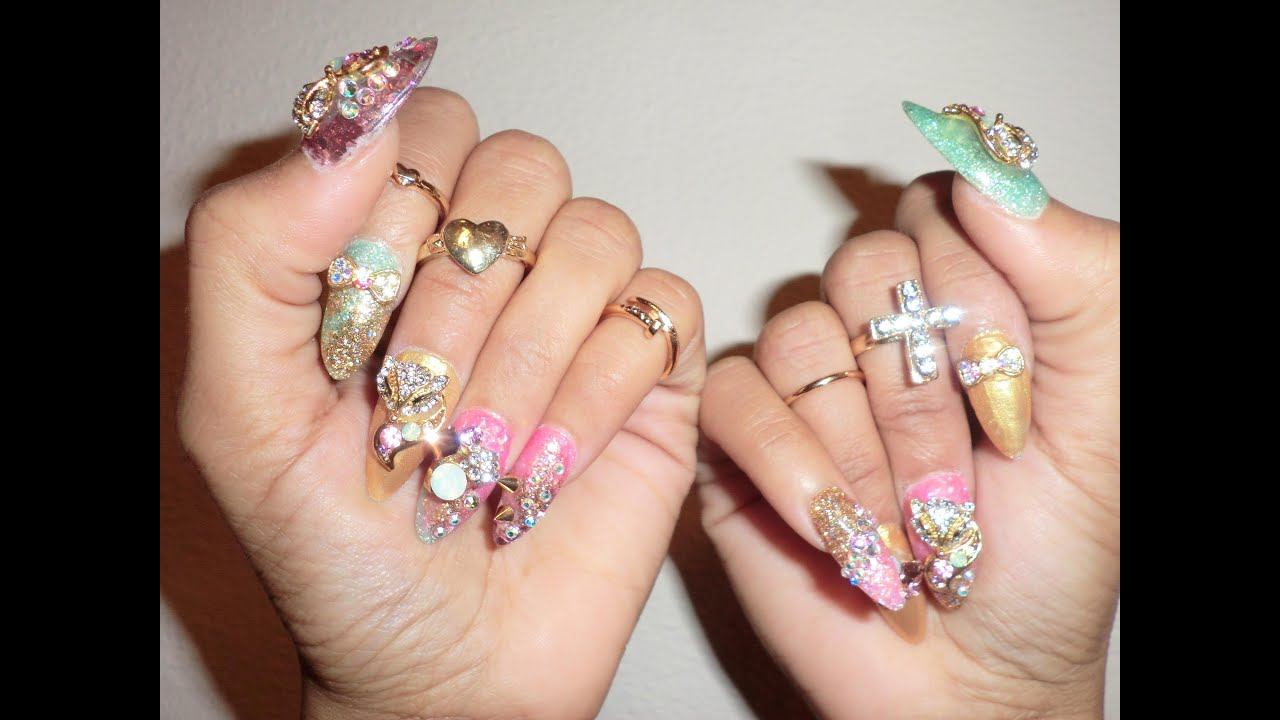 Foxy Treasure Nails - YouTube