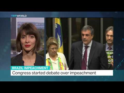 Interview with Andrea Murta on Brazil impeachment