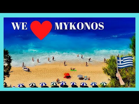 The BEACHES of MYKONOS, GREECE: the GOOD, the BAD and the SUPER UGLY
