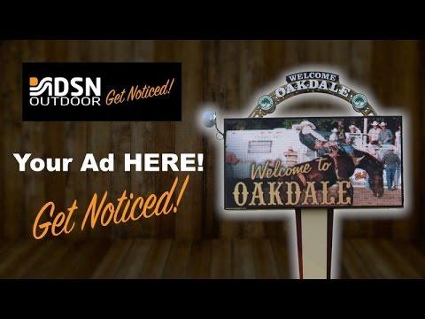 Oakdale Digital Billboard - Central Valley Billboard Advertising - DSN Outdoor