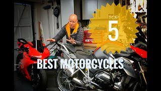 Top 5 motorcycles you can buy today - TMF's favourite five