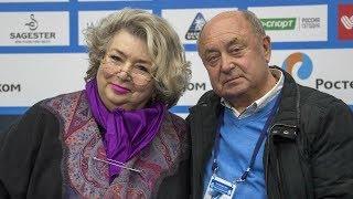 Татьяна Тарасова: Бороться с Медведевой можно, но чудес не бывает
