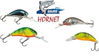 Воблер Salmo Hornet. Подводная съемка