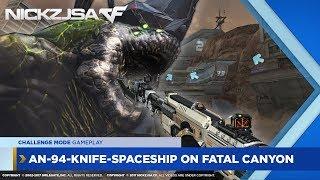 AN-94-Knife-Space Ship on Fatal Canyon (AI3) | CROSSFIRE China 2.0