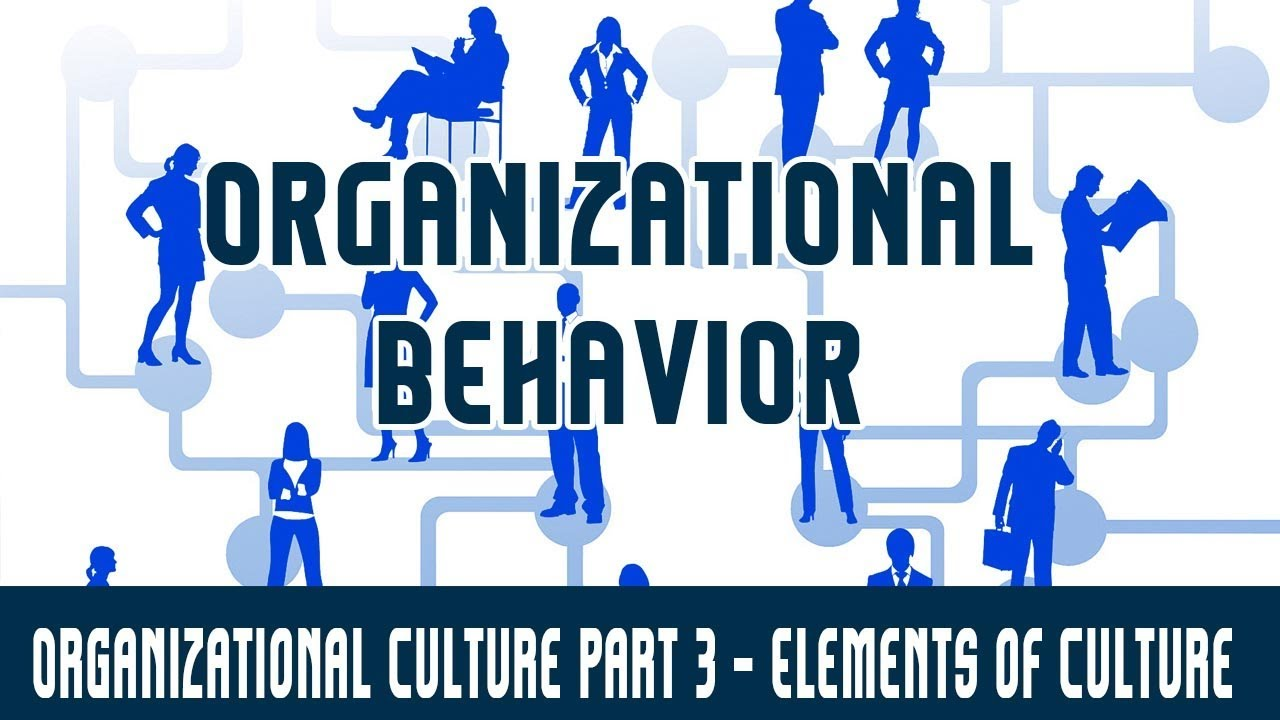 elements of organizational behavior