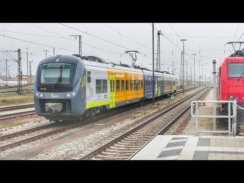 Zugverkehr in Ingolstadt Hbf